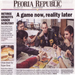 Peoria Republic: A game now, reality later