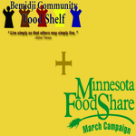 Bemidji Community Food Shelf Minnesota FoodShare March Campaign 2015