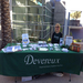 Devereux's information table at the MLK Festival in Downtown Mesa.