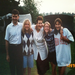 Spending time with my host family in Prague - Czech Republic, 1996