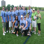 Panera fundraising for Playworks Corporate Kickball