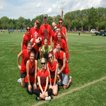 American Heart Association fundraising for Playworks Corporate Kickball