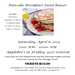 Pancake Breakfast Fund Raiser