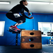 Blind Amputee Corey Reed doing box jumps!