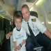 Wish child Callum takes off to Hawaii on our generous sponsor, Allegiant Air.