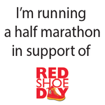 Cheryl Haritatos running and fundraising for 2013 Red Shoe Day