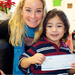 grant check presentation - free preschool!