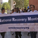 Celebrating National Recovery Month (Sept.) with an advocacy walk at our Rally for Recovery in 2012. Recovery is real.
