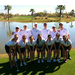 UIU Men's and Women's Golf Team on Spring Break 2013