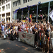 MEUSA volunteers at the New York City gay pride parade
