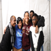 SMYAL youth and staff pose in our Youth Pride photo booth.