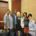 Meeting Cyndi Lauper - an advocate for homeless LGBTQ youth.
