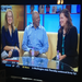 Nita Killebrew, Tony Oliva and Katie Lindenfelser with Tom Butler of Fox9 Morning News
