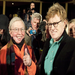 Roger Ebert and Robert Redford 2001 @Sundancefest by Calvin Knight