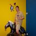 Habitat500, Tony DiBenedetto, rider #58