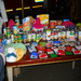 Some of the food items collected for our Christmas Angel Program for soldiers families!