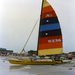 Dad loved sailing - his hobee cat