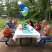 Families enjoying the Annual Family Picnic