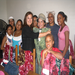 CLF Founder & President at a Vita Network overnight Reunion Weekend-with amazing clothes donated by Topson-Downs, Inc.