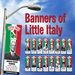 Banners of Prominent Italian Americans