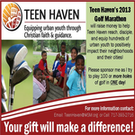 2013 Teen Haven Golf Marathon - Jack Crowley