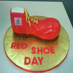 Cheryl Haritatos fundraising for 2013 Red Shoe Day IV