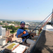 Charlie Hooper fundraising for Over The Edge Chattanooga 2013