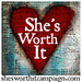 Jessamyn Turgesen fundraising for She's Worth it!