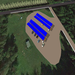 Overhead View of Carport Array