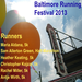 Creative Alliance Artists and Staff Running to Promote Art that Builds Community. Baltimore Running Festival, October 12, 2013
