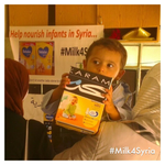 Milk for Syrian Infants