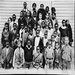 Nellie Henderson and her class at the Falls Church colored school