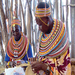 Kenyan basket weavers at the 2011 Peace Corps Folklife Festival program.