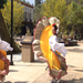 Folkloriko dancer at the Cesar E. Chavez Memorial unveiling celebration