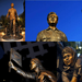 Views of the final product... the Cesar E. Chavez Memorial Statue