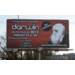 Billboard advertisement for Darwin on the Palouse 2012