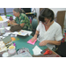 July's Cutting Edge paper class for adults.