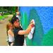"""Seward Market """"Reclamation"""" mural."""