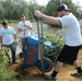 Nationals volunteers assist at Kenilworth Aquatic Gardens restoration project, near Nationals Par