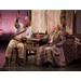 John Douglas Thompson and Olympia Dukakis in Mother Courage and Her Children. 2013. Photo by Kevin Sprague