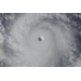 Satellite Image of Super Typhoon Haiyan as it hits the Philippines