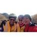 Training in chilly November with John Ende and Luke Heller