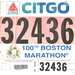 100th Boston Marathon Bib