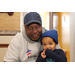 Air Force Veteran and Homeowner Hank Douglas, with his grandson, Henry