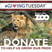 Donate to help Henry Vilas Zoo grow our pride on Giving Tuesday, Dec. 3, 2013