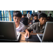 Kids learning on donated laptops in Cambodia