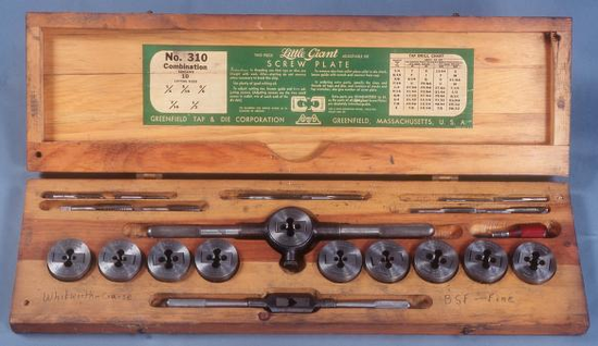 Size 550x415 whitworth tap and die