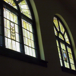 Save the Museum's Stain Glass Paladium Windows