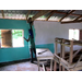 Rebecca painting a classroom