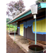 Kindergarten building with the rainwater catchment system